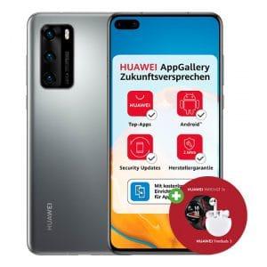 Huawei P40 + Huawei Watch GT 2e + Huawei FreeBuds 3