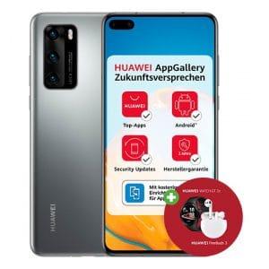 Huawei P40 + Huawei FreeBuds 3 + Huawei Watch GT 2e
