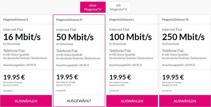 Telekom Magentazuhause Tarife Und Angebote Im Uberblick