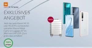 Xiaomi Mi 10 Vorbesteller Aktion