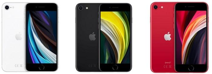 Besondere Angebote Apple iPhone SE 2020 Farben im Vergleich