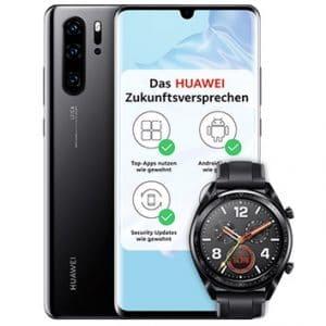 Huawei P30 Pro mit Watch GT bei o2 Teaserbild