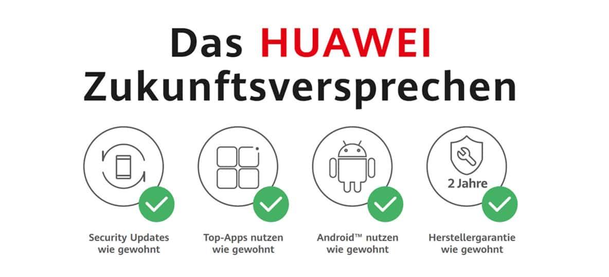 Google-Apps auf dem Huawei-Smartphone isntallieren