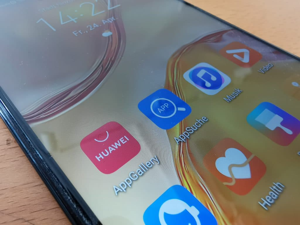 Huawei AppGallery und AppSuche. Apps auf Huawei Smartphone installieren
