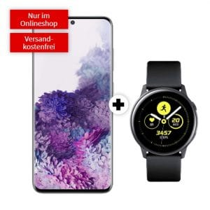 Samsung Galaxy S20 + Samsung Galaxy Watch Active MediaMarkt Thumbnail