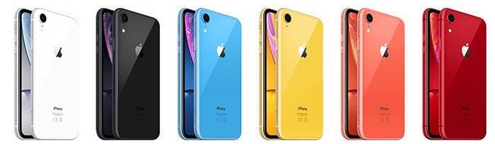 iPhone Xr Sammelartikel alle Farben