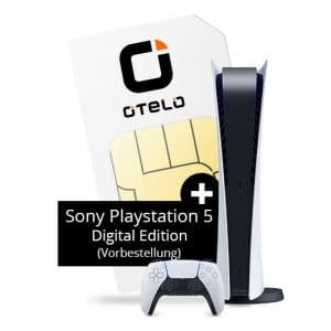 otelo Allnet Flat Max + Sony PlayStation 5 Digital Edition bei FLYmobile Thumbnail