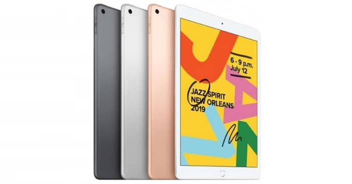 Apple iPad 2019 Farben Sammelartikel