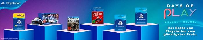 Sony Days of Play: Satte Rabatte auf Konsolen, Spiele & mehr - MediaMarkt, Saturn & Amazon mischen mit!