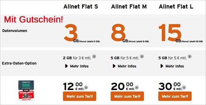 congstar Allnet-Flat Aktion