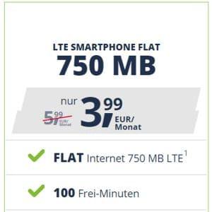freenet Mobile Smartphone Flats ab 3,99 € mtl.