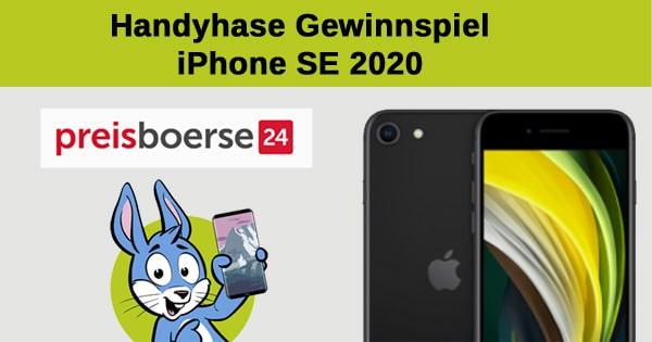 Handyhase-Gewinnspiel: Gewinne ein brandneues Apple iPhone SE 2020 im Wert von 479 €!