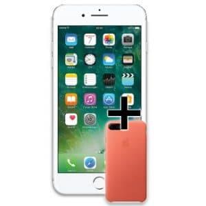iPhone 7 Plus mit Ledercase