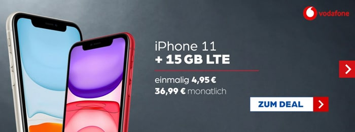 iPhone 11 + Vodafone Smart L Plus bei Preisboerse24