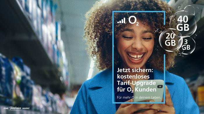 o2: Mehr Datenvolumen zum gleichen Preis in den Free- & Blue All-in-Tarifen - diese Kunden profiteren davon!