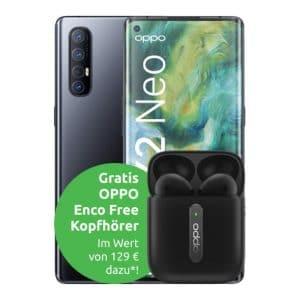 Oppo Find X2 Neo mit Headset