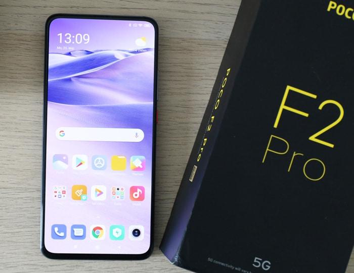 Xiaomi Poco F2 Pro mit Vertrag im Netz der Telekom, Vodafone oder o2