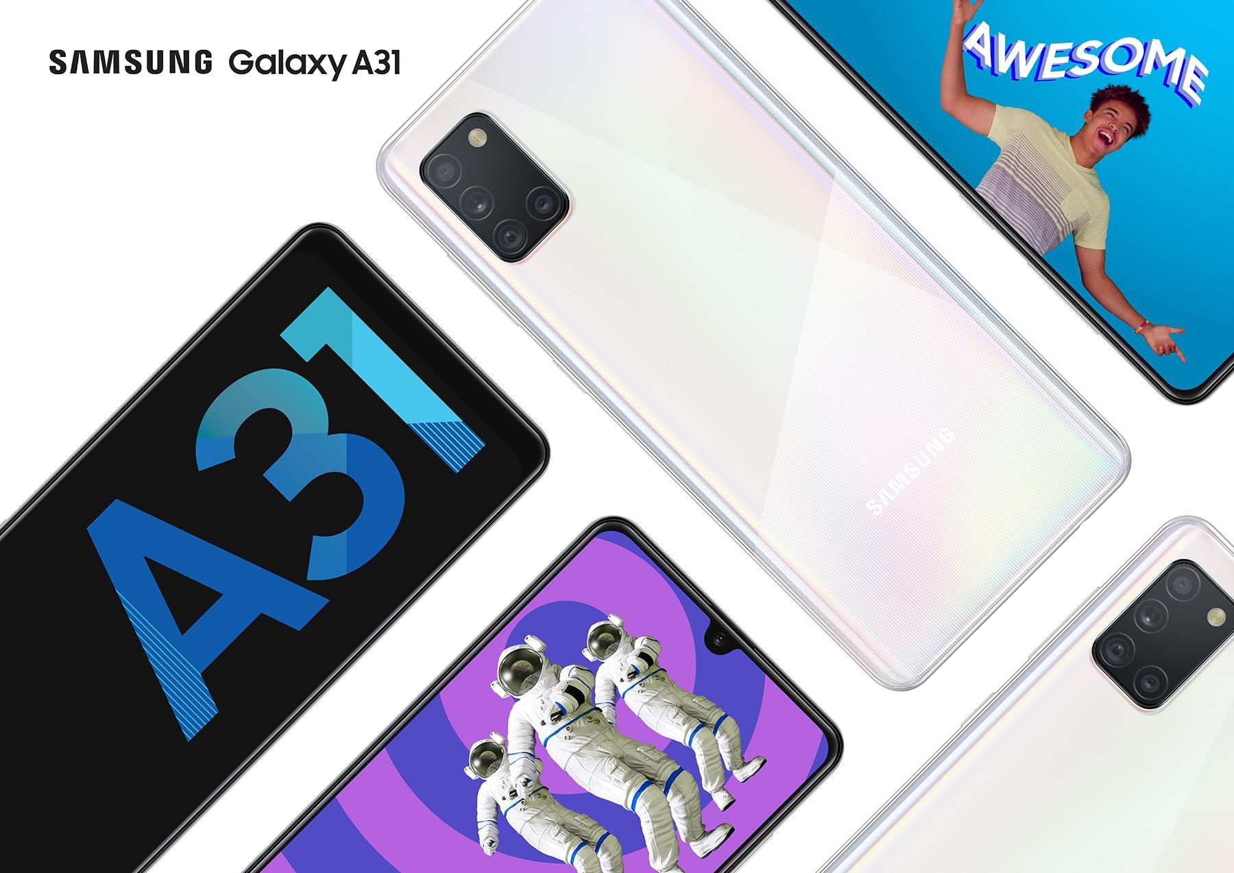Samsung Galaxy A31 mit Vertrag
