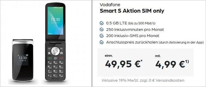 Emporia TouchSmart mit Vodaone Sart S bei Preisboerse24