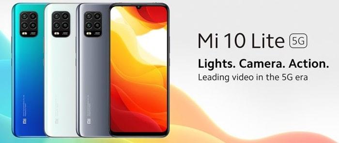 Xiaomi Mi 10 Lite 5G alle Farben