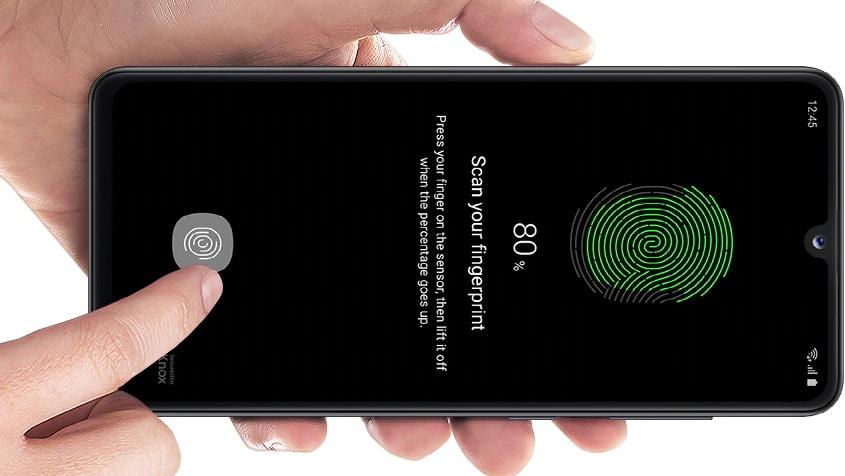Samsung Galaxy A41 Fingerabdruck