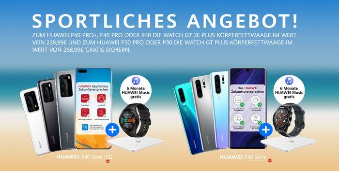Huawei Aktion zur Huawei P30- & P40-Serie