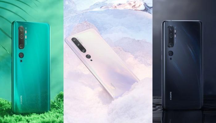 Xiaomi Mi Note 10 mit Vertrag
