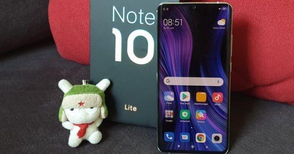 Xiaomi Mi Note 10 Lite Teaserbild