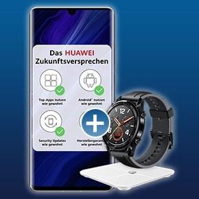 Huawei P30 Pro New Edition mit zwei Zugaben Bonusdeal
