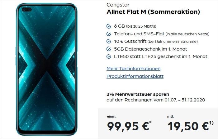 realme X3 Superzoom mit congstar Allnet Flat M bei Preisboerse24