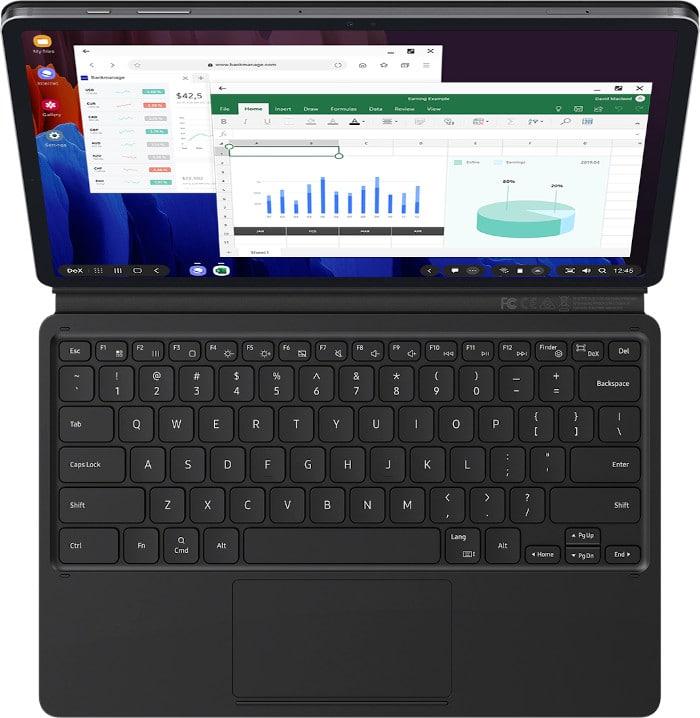 Samsung Galaxy Tab S7 Plus Tastatur