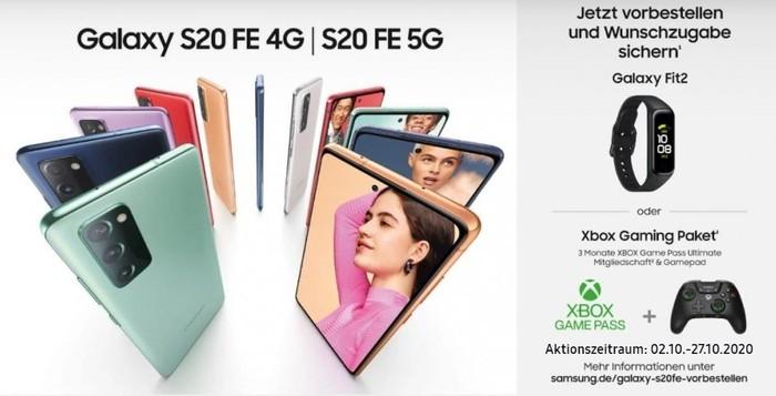Samsung Galaxy S20 FE (5G) Aktion)