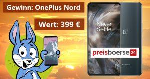 OnePlus Nord Gewinnspiel im August
