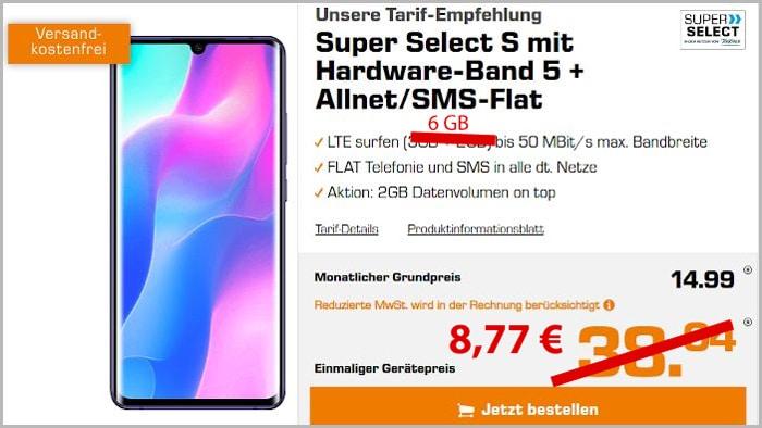 Xiaomi Mi Note 10 Lite + Super Select