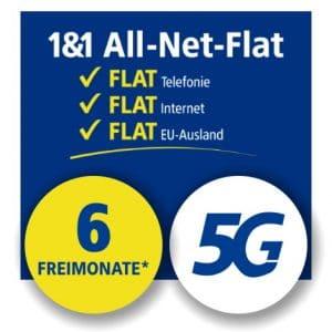 1&1 Allnet Flat mit 5G Thumbnail