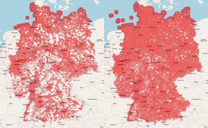Vodafones Mobilfunk-Netz Vergleich UMTS vs. LTE