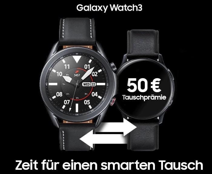 Galaxy Watch 3 Samsung Eintausch Aktion