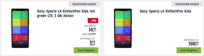 EinfachFon für Kinder: Kids-Edition mit oder ohne Tarif