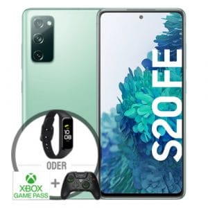 Samsung Galaxy S20 FE Grün Vorbesteller Thumbnail