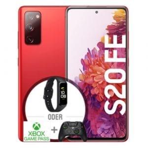 Samsung Galaxy S20 FE Rot Vorbesteller Thumbnail