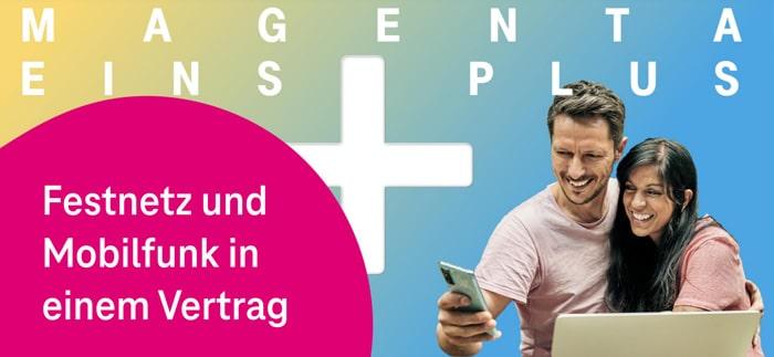 Telekom MagentaEINS Plus: Handytarif und Festnetz-Anschluss in einem Vertrag