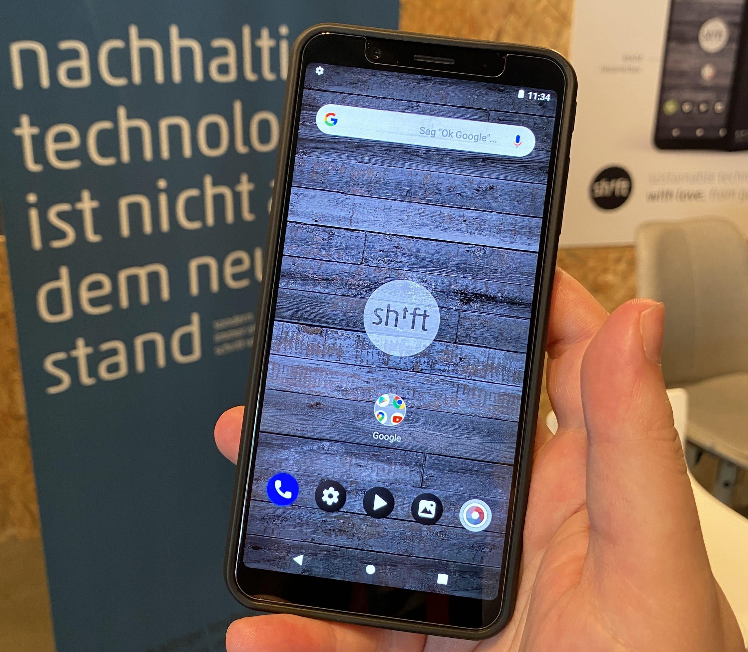 Das shiftphone SHIFT 6mq: Neue modulare Oberklasse aus Deutschland