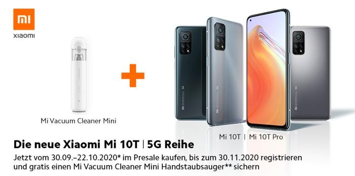 Xiaomi MI 10T (Pro) Vorbesteller-Aktion