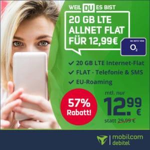 o2 Free M bei mobilcom-debitel Thumbnail