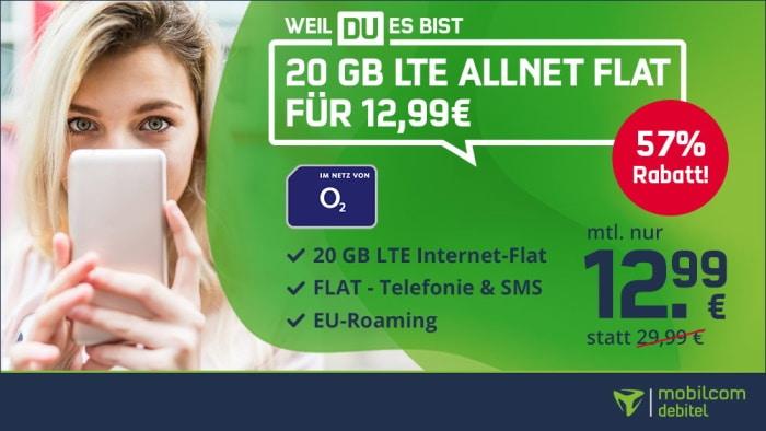 o2 Free M bei mobilcom-debitel
