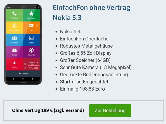 EinfachFon Nokia