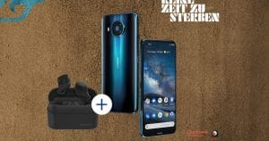 Nokia 8 3 Aktion mit In Ears Power Earbuds Magazin