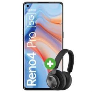 Oppo Reno4 Pro 5G mit Kopfhörer