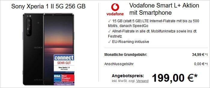 Sony Xperia 1 II zum Vodafone Smart L Plus bei LogiTel