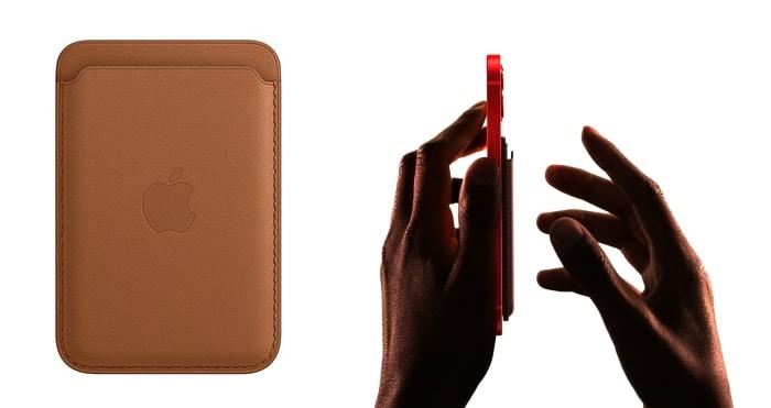 Apple Leder Wallet mit MagSafe für die iPhone 12 Familie